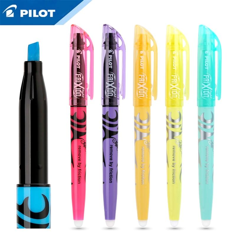 PILOT SW-FL Frixion 6/12pcs Erasable Highlighter Pastel Color Fluorescent Marker Pen 12 Colors Japan