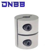 Peças 3/4/5/6/6.35/8/10 d20l25 da impressora 3d do acoplamento do servo motor deslizante da braçadeira do acoplador do eixo para a creality cr10 ender-3