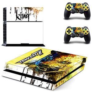 Image 4 - משחק Tekken 7 PS4 מדבקות לשחק תחנת 4 עור מדבקת מדבקות עבור פלייסטיישן 4 PS4 קונסולה ובקר עורות ויניל