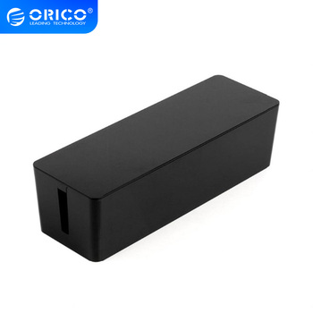 ORICO PB3218 Cable Management Electrical Outlet Boxes For Power Strip Multi-Charger Wire Arranging Ties Cord Organizer Clips orico pb3218 cable cord organizer box for surge protection