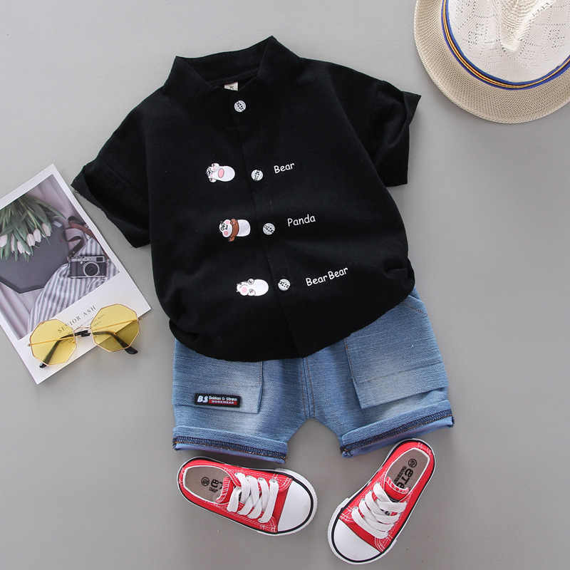 Summer Baby Clothes Suit Children Boys Fashion Shirt Shorts 2Pcs/sets Toddler Casual Clothing Infant Kids Tracksuits suit sets