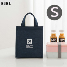 Lunch-Bag Tote-Accessories Bento-Pouch Food Picnic Office Cold-Insulation-Organizer Portable