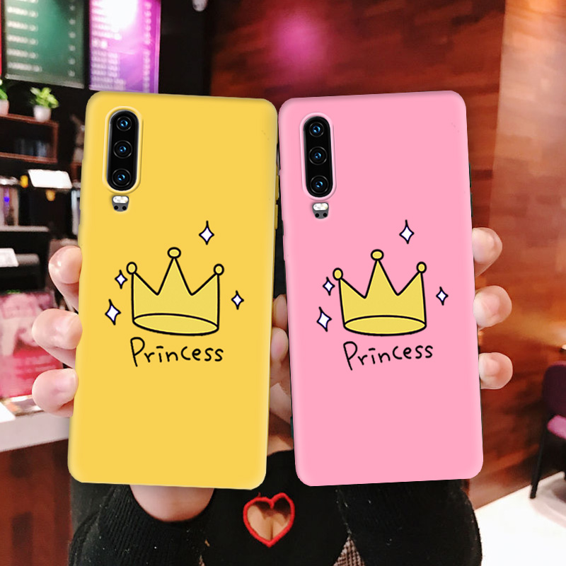 Yellow Pink Princess For <font><b>Huawei</b></font> <font><b>P30</b></font> <font><b>Lite</b></font> <font><b>Case</b></font> Cover Multi Color Soft TPU For <font><b>Huawei</b></font> P30Pro Cover Phone <font><b>Case</b></font> <font><b>P30</b></font> Back <font><b>Case</b></font> Bumper image
