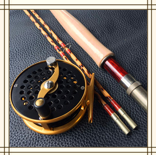 ZHUSRODS Limited Edition (1-50) Leopard-toasted Handcrafted Bamboo Fly Rod 7'6