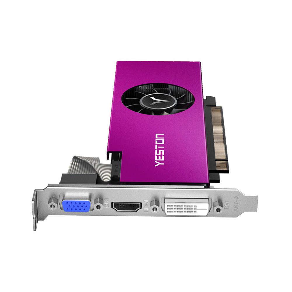 יסטון RX 550 RX550 4G D5 גרפי כרטיס וידאו כרטיס Radeon צינה מחשב 4GB זיכרון GDDR5 128Bit גרפיקה כרטיס 6000MHz VGA HD DVI-D
