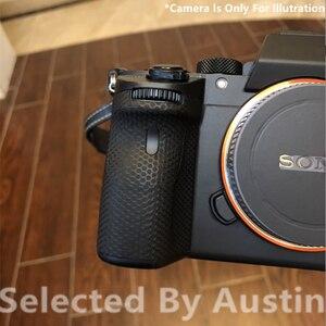 Image 4 - Protetor do decalque do protetor da pele da câmera preto fosco para sony a7r4 7r vi a9m2 alpha 9 ii anti risco envoltório filme adesivo capa