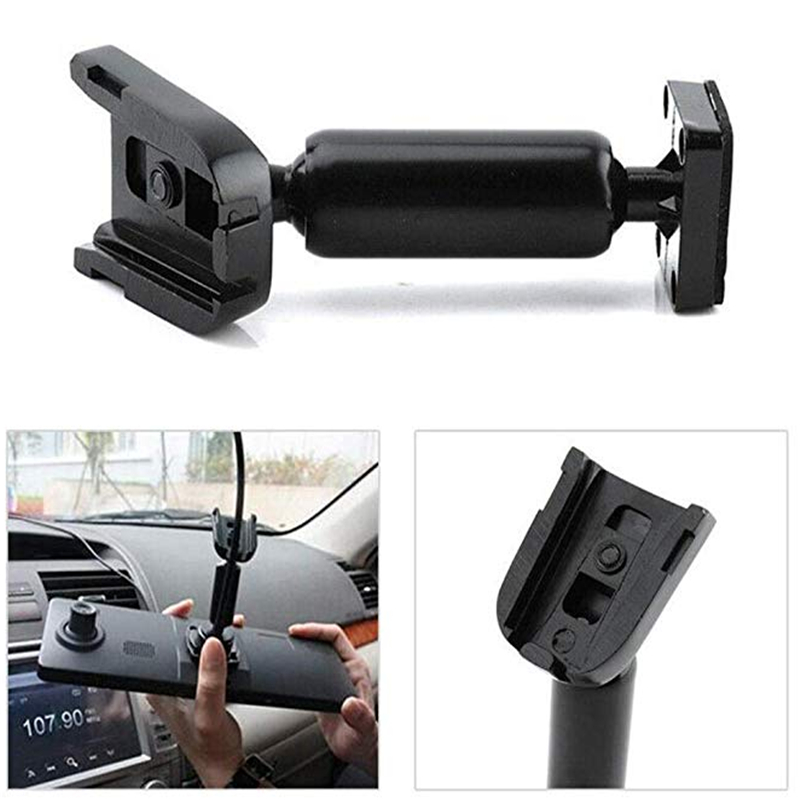 ANSHILONG OEM Rear View Mirror Back Plate Panel Interior Mirror Bracket Arm for Car DVR Instead of Strap