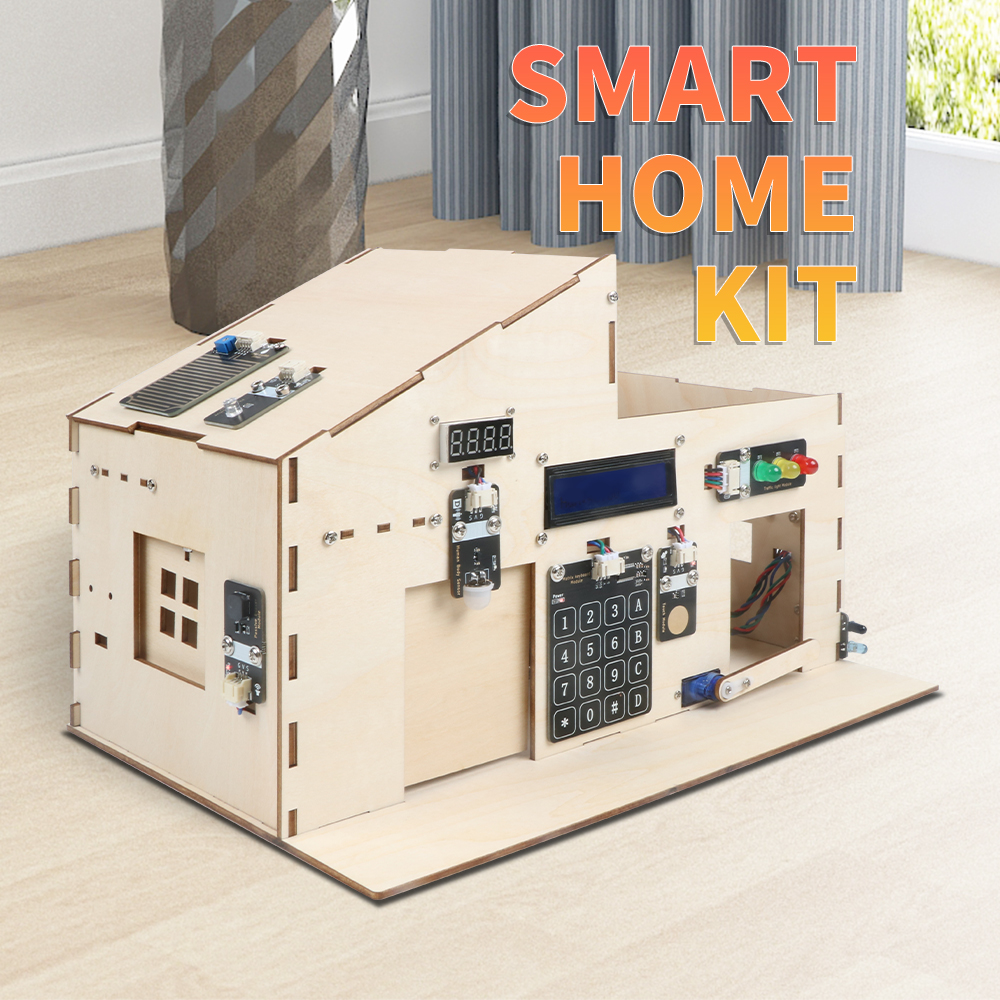Smart Home IoT Learning Kit for Arduino Support Scratch Diy Electronics Basic Starter Kit