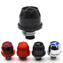 10 Mm Mini Air Filters Interface Motorfiets Luchtfilters Auto Koude Mini Auto Kegel Koude Intake Filter Turbo Vent Carter breather(China)