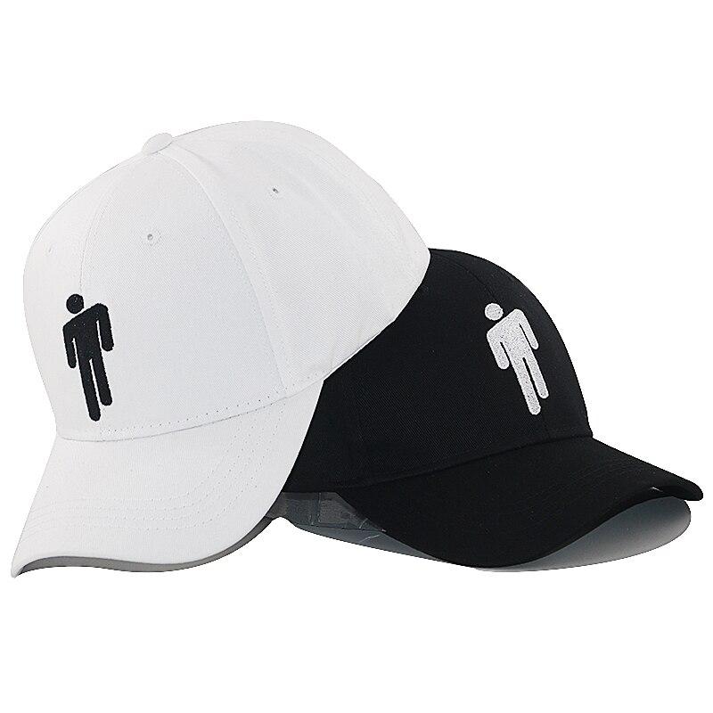 Fashion Billie Eilish Strapback Baseball Cap Cotton Adjustable Snapback Hats Men Women Travel Caps