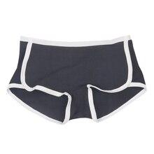 Winter Underwear Women Cotton Boyshort Briefs Cute Hipster Girls Sexy Lingerie Boy Shorts Boxer Casual Panties contrast trim hipster boxer briefs