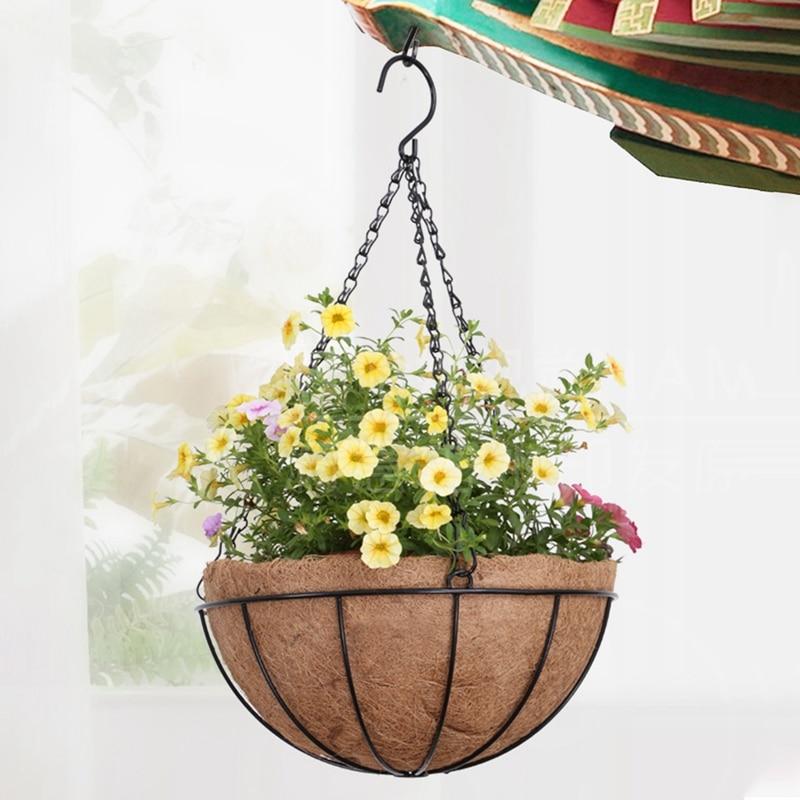 Ручная работа цветок растение вешалка овощи цветок ваза горшок корзина для стена декор двор сад вешалка кашпо вешалка корзина
