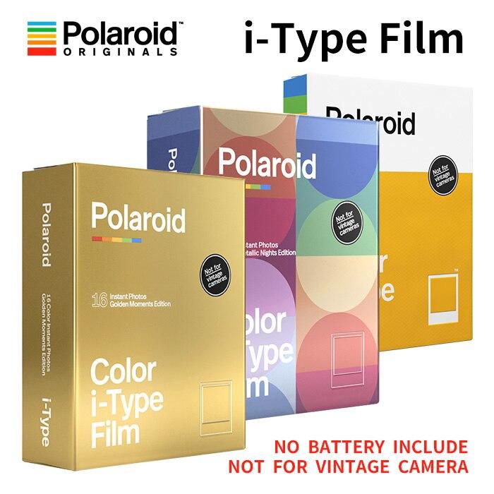 Новая Подлинная пленка Polaroid Originals Instant I-type цвета и черно-белого цвета для камеры Onestep2VF Instax