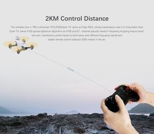 Image 3 - Radiolink émetteur et récepteur R8FM R8EF 8CH, Mini RC T8S, 2.4G Radio avec poignée à distance, contrôleur de manette de jeu