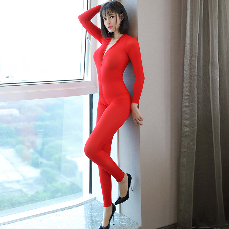 Porn Allure Rompers Ultrathin See Through Smooth Soft Jumpsuit ...