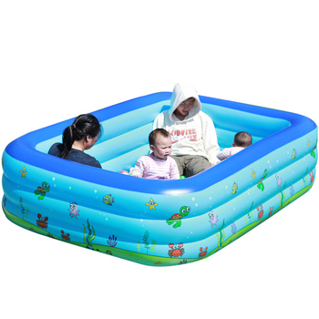 Family Inflatable Swimming Pool Garden Summer Outdoor Kids Paddling Pool WHShopping
