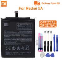 """Xiao mi Original Telefon Batterie BN34 für Xiao mi Red mi 5A 5,0 """"Ersatz Batterie 2910mAh Hohe Kapazität telefon Batterien + Werkzeuge"""