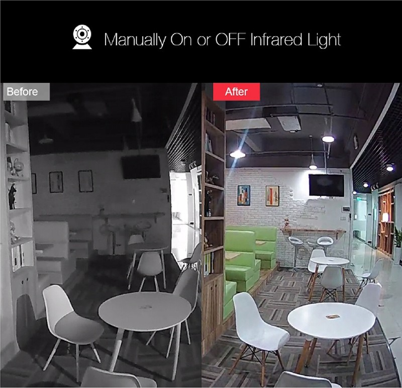 1080P IP Baby Monitor Camera With Night Vision CCTV Cam For Your Child Safety 18