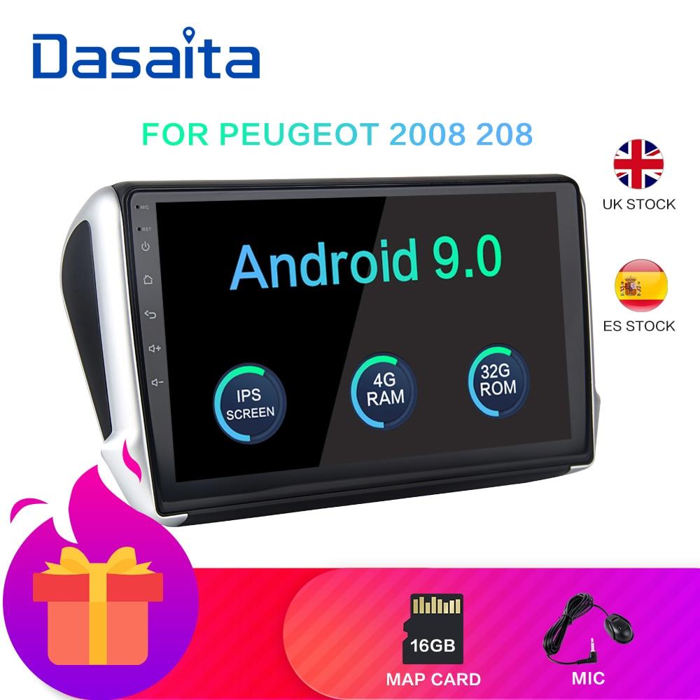 Dasaita Android 9,0 De 10,2