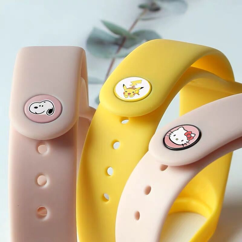 Bracelet for Xiaomi mi band 4 Strap watch Silicone wrist strap For xiaomi mi band 3 4 bracelet Miband 4 miband 3 strap Wristband 2