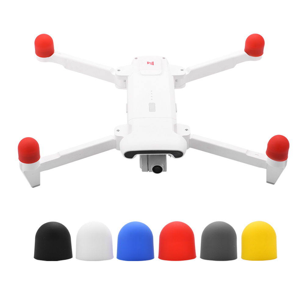 4pcs Silicone Motor Cover Cap For FIMI X8 SE Drone Engine Protective Dust-proof Protector For Fimi X8 Se Accessories