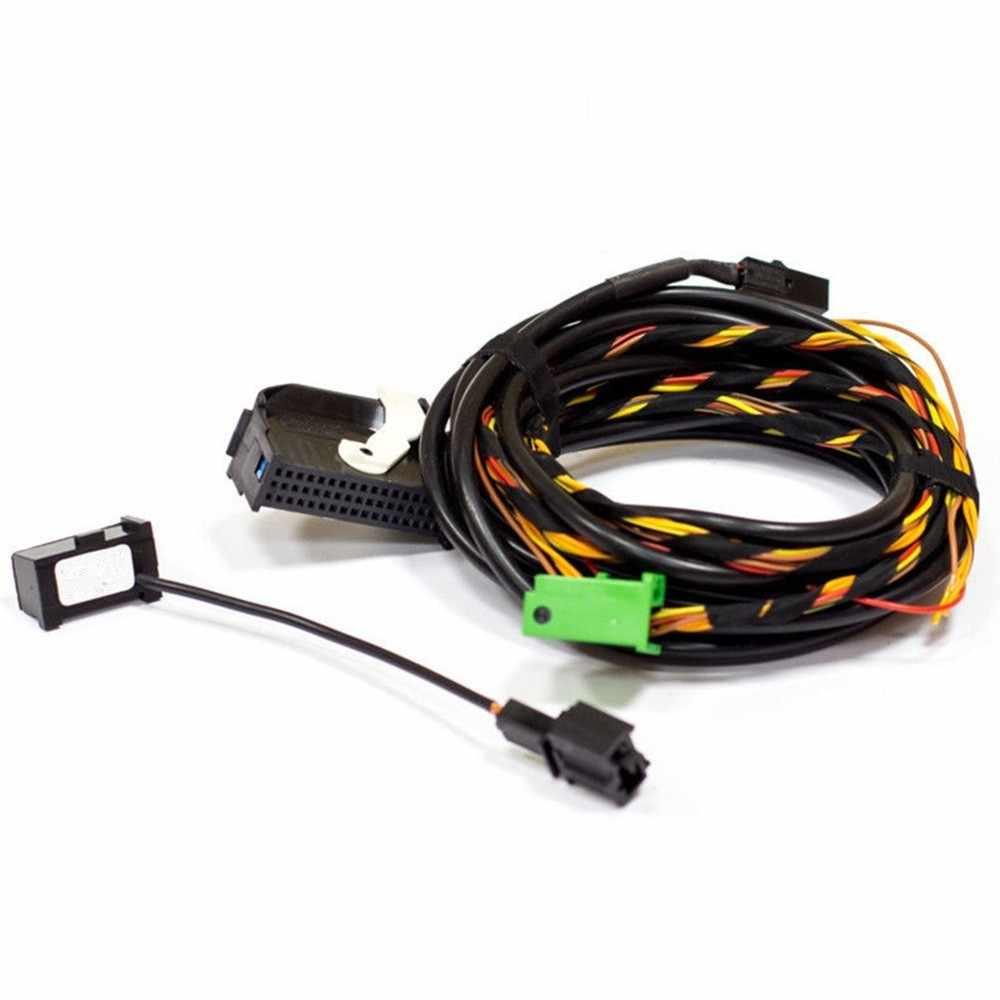 Asli RCD510 Mobil Radio 9W2 Modul Bluetooth Rvc Reverse Kamera Gambar untuk Golf MK5 MK6 Passat B6 Scirocco 1K8035730D