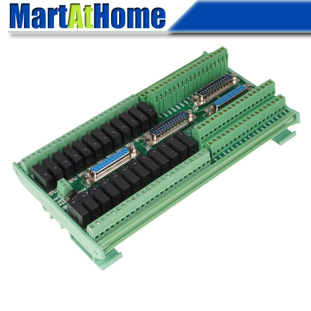 Integrated Adapter Board IO Board with 4PCS <font><b>DB25</b></font> Parallel Port Cable for XC609M XC709M XC809M XC609D XC709D XC809D XC609T XC809T image