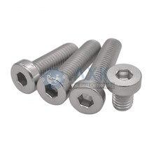 (50 pc/lot) M3,M4 *L sus304 stainless steel hex socket thin head cap model auto diy screw,DIN7984