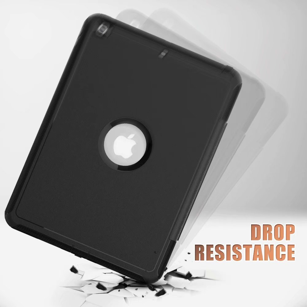 generation 10.2 2019 For 7th For ipad smart Case Armor Shockproof iPad Kickstand case