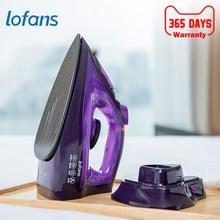Lofans Cordless Electric Steam Iron YD-012V 2000W High Power Garment Steam Generator Ironing Multifunction Adjustable