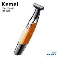 Kemei Profesional Cordless Electric Shaver Beard Body Hair Trimmer Mens Facial Care KM-1910