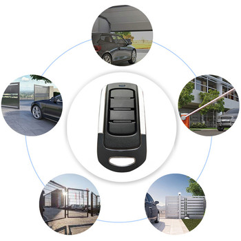 433MHz Remote Control 4 Channel Garage Gate Door Opener Remote Control 433.92 MHz Duplicator Clone Cloning Code Key Fob gibidi ts2m gobbato t306 cloning remote control replacement 306 mhz fob new