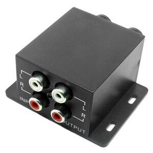 Image 3 - New Car Amplificatore di Potenza Audio Regolatore Bass Subwoofer Equalizzatore di Crossover Controller 4 Rca Regolare Linea di Livello di Volume Amplificatore