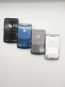 Image 4 - Оригинальный мобильный телефон Motorola Razr V3, хорошее качество, мировая версия, GSM, четырехдиапазонный мобильный телефон, один год гарантии, бесплатная доставка