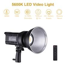 Andoer светодиодный свет для студийной видеосъемки лампа дневного света 150W 5600K CRI93 + TCLI95 + 16000LM затемнения Bowens Mount USB Порты и разъёмы Дистанционно...