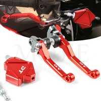Para YAMAHA DT125 DT200 DT230 LANZA DT 125 200 230 Motocross CNC pivote freno acrobacias palanca de embrague sistema de cable de tracción fácil moto sucia