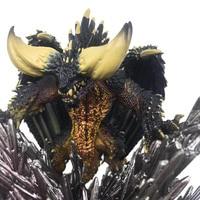 Monster Hunter World Action Figure Toy Japan Anime Nergigante Model PVC Dragon Christmas Gift