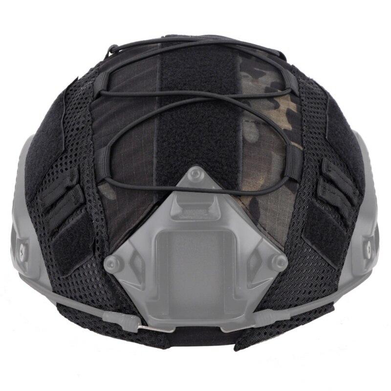 Страйкбол охотничий шлем крышка гибкий прочный водостойкий порт шлем Крышка для Ops-Core PJ/BJ/MH Тип Быстрый Шлем