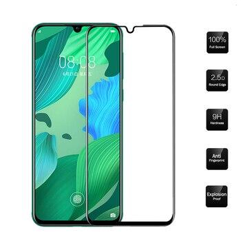 3D Full Coverage Tempered Glass For Huawei Nova 5 5T 5i Pro Nova 4 4E 3 Lite 3i 3E 2i 2 Screen Protector Protective Film 100Pcs