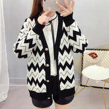 2019 New Arrival Spring and Autumn Knitted Cardigan Short Coat Casual V-Neck Long Sleeve Cardigans Sweater Thin Coat Female Tops new sweater women cardigan knitted sweater coat long sleeve female casual o neck woman cardigans tops pull femme
