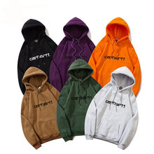 Autumn And Winter New Men's And Women's Hoodies, Cotton Loose Tops, Casual Hip-Hop Style Hoodies
