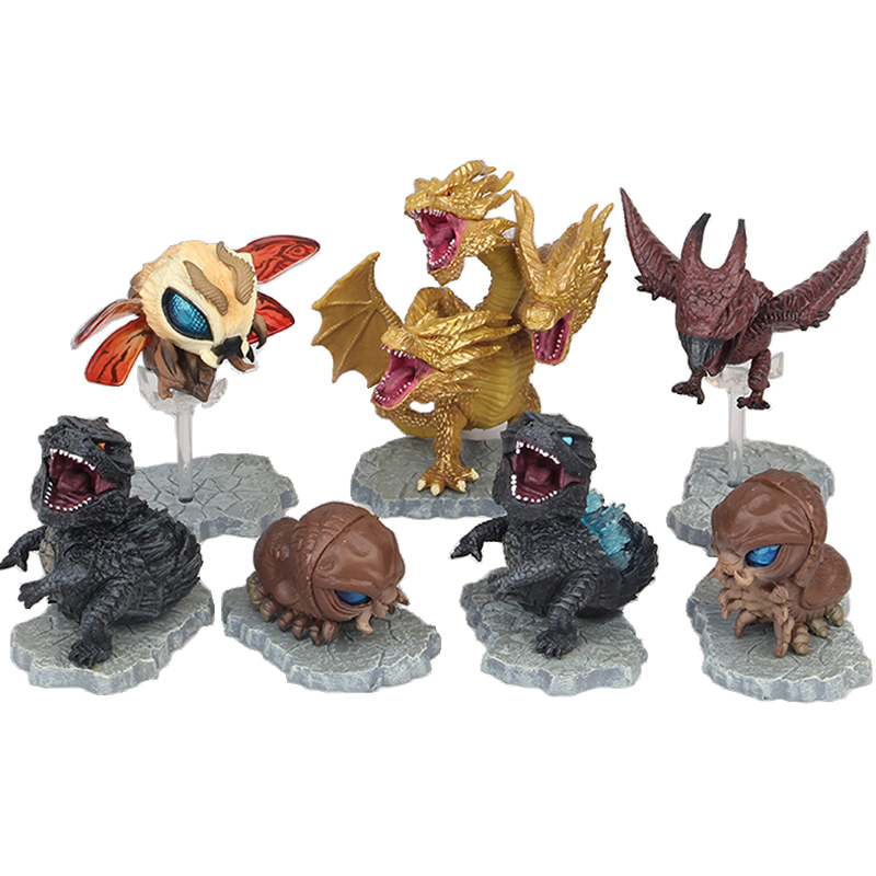 NECA Gojira 3~9CM PVC Action Figure Collectible Model Toys Godzilla Collection Dolls For Child Birthday Gifts