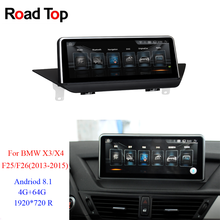 "10.25"" 1920*720R Android8.1 Touch Screen for BMW X3/X4 F25 F26 2013-2015 With GPS Navigation Radio Stereo Multimedia Player(China)"