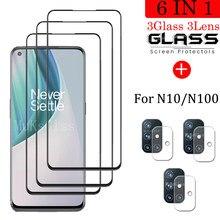 Volle Abdeckung Gehärtetem Glas Für OnePlus Nord N10 5G Screen Protector Für OnePlus Nord N100 Kamera Glas Für OnePlus n10 n100 Glas