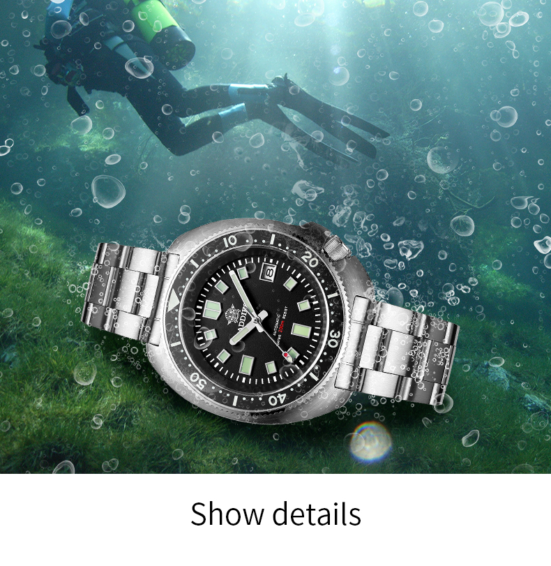 Hccfaef0a358245018fa9c6e4a5f09536R 1970 Abalone 200m Diver Watch Sapphire crystal calendar NH35 Automatic Mechanical Steel diving Men's watch