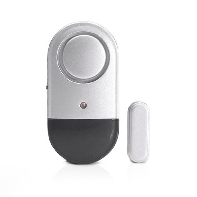 Door Window Alarm 120Db Wireless Magnetically Triggered Home Security Sensor Burglar Alarm Loud Pool Door Alarm For Kids