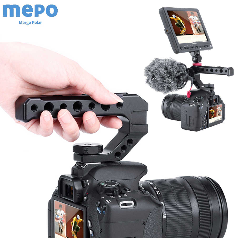 Pentax K-S2 Vertical Shoe Mount Stabilizer Handle Pro Video Stabilizing Handle Grip for