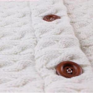 Image 3 - Warm Blanket Soft Baby Sleeping Bag Footmuff Cotton Knitting Envelope New Born Boy Girl Swad Wrap Accessories Sleepsacks Fashion
