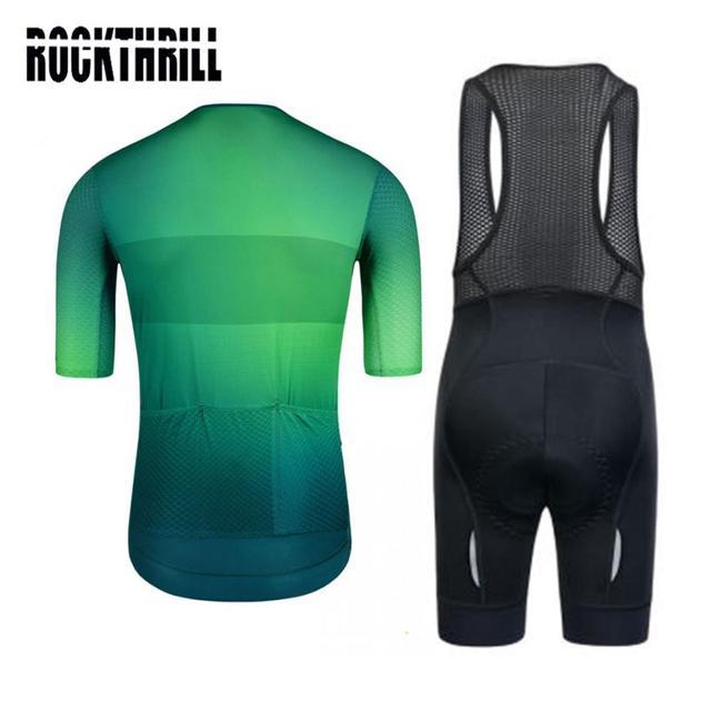 Conjunto de roupas para ciclismo pro team, kit de roupas curtas de ciclismo com almofada em gel de alta densidade para mtb e road ternos verão 2020 2