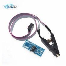 Высококачественный тестовый зажим SOIC8 SOP8 для EEPROM 93CXX/25CXX/24CXX, встроенное программирование на USB-программаторе TL866CS TL866A EZP